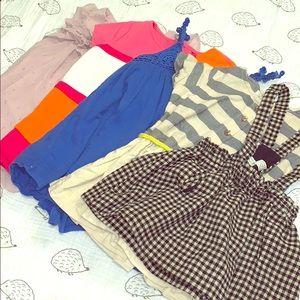Zara + Gap dress lot